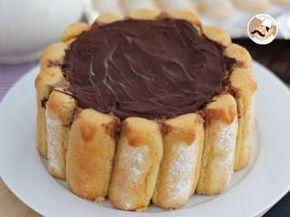 Charlotte au chocolat, Recette Ptitchef