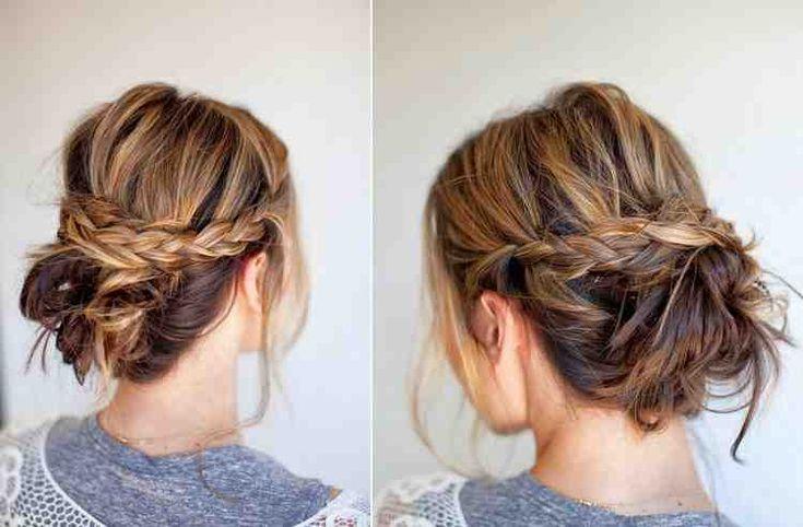 Des updos en vrac pour chaque occasion – idées et instructions   – Curly Hair