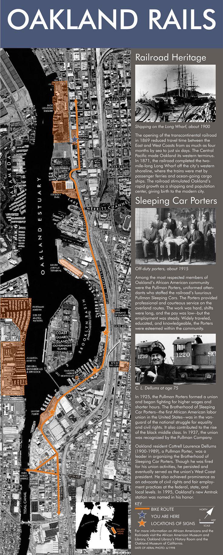 Historical Marker - Oakland Rails