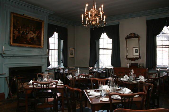 Gadsby's Tavern in Alexandria, VA - ghost of the Female Stranger in room 8