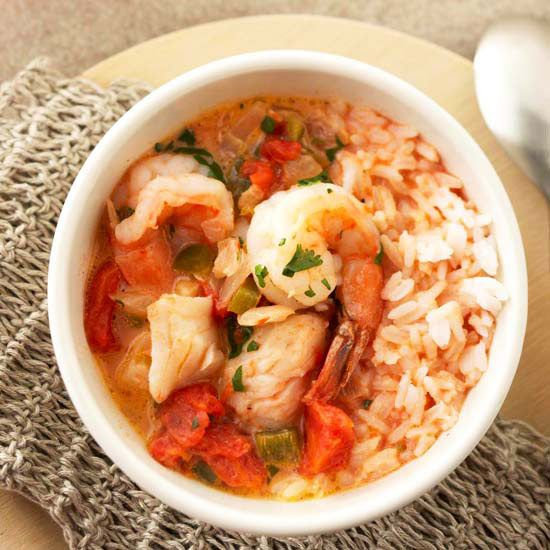No need to travel to experience yummy Caribbean Seafood Stew: http://www.bhg.com/recipes/party/seasonal/summer-soups/?socsrc=bhgpin080514caribbeanseafoodstew&page=6
