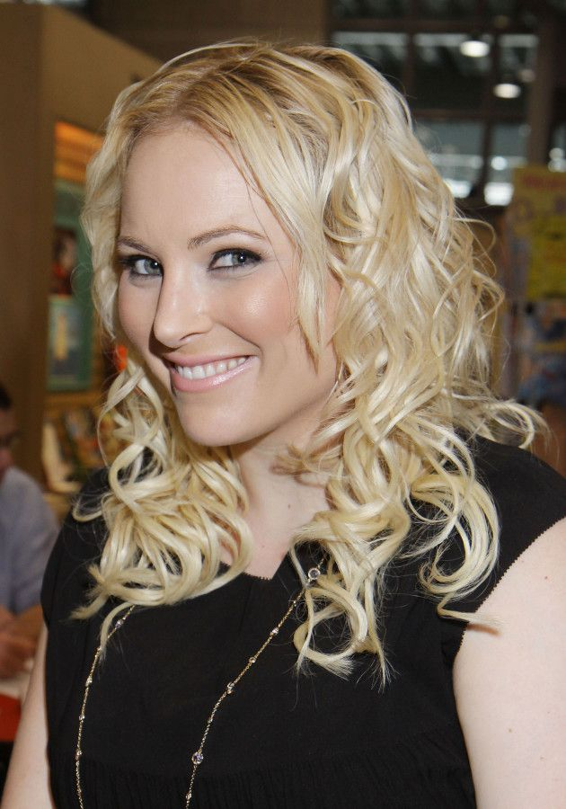 Meghan McCain she is beyond annoying.  Her dad was a horrible candidate and would have made a horrible President.  She is no Republican.