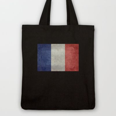 National Flag of France - Vintage Version Tote Bag by LonestarDesigns2020 - Flags Designs + - $18.00