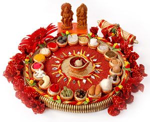 Pooja Thali Manufacturers India | handicrafts Works Chennai | Aarti puja Decoration