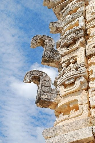 Chac en Uxmal by toltequita