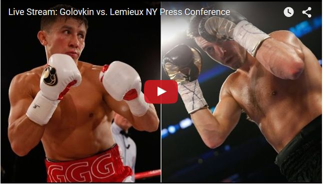 Gennady Golovkin VS David Lemieux live boxing PPV Schedule Prediction lightweight HBO Showtime h2h World boxing Championship heavyweight fight preview watch