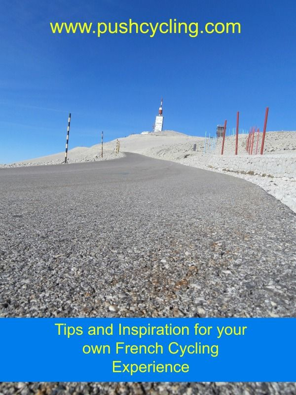 Interested in Cycling in France and the Tour de France? If climbing famous mountains or seeing the Tour de France in real life is on your bucket list go to: www.pushcycling.com