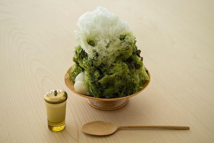 HIGASHIYA | kakigoori maccha | かき氷
