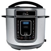 Pressure King Pro 12-in-1 5L Digital Pressure Cooker, Black/Chrome at John Lewis