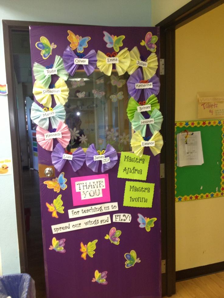 Our teacher appreciation door.