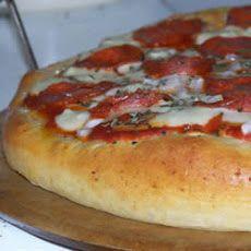 Pizza Crust for the Bread Machine Recipe