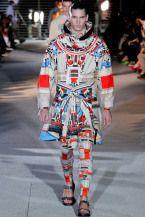 Givenchy İlkbahar/Yaz 2014 Erkek Giyim Koleksiyonu   Tribal Sokak Giyimi