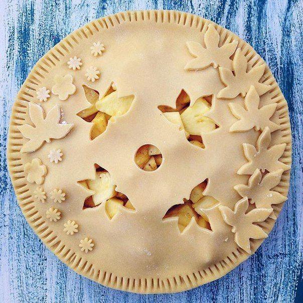 Идеи для украшения пирогов