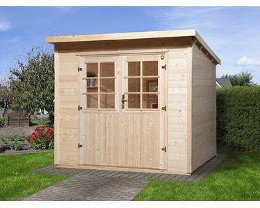 Weka Holz-Gartenhaus Taro A 235 cm x 240 cm