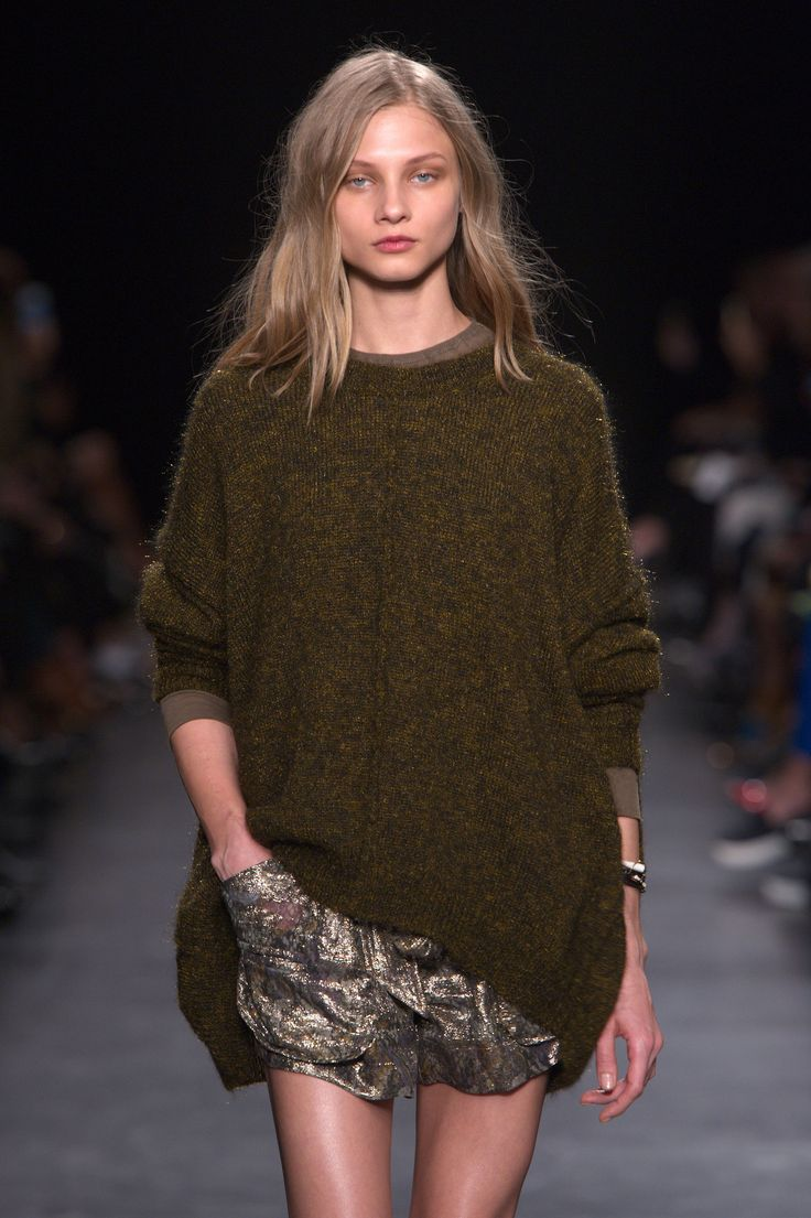 Effortlessly wearable, and always chic from @isabel ai #pfw