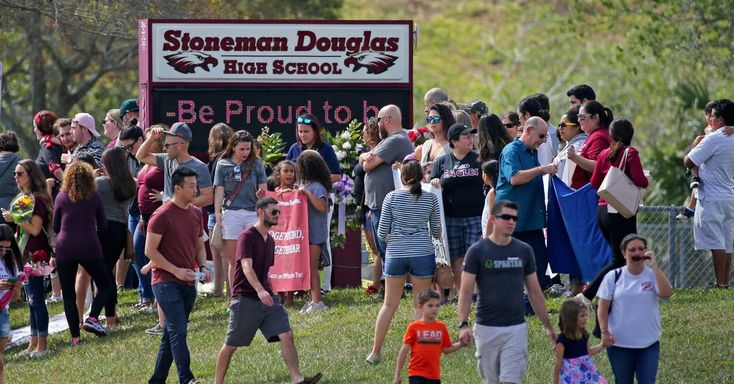 #MONSTASQUADD Florida Students Return, Gingerly, to Their Scarred High School