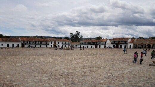 Plaza central de Villa de Leyva