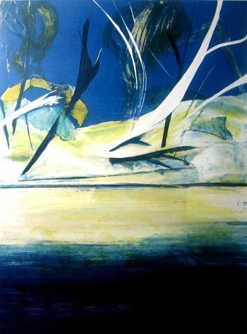 Arthur Boyd ~ Shoalhaven Quartet #4, 1988