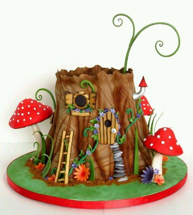 ... <b>House</b> Cake, Cake With Toadstool, Cupcakes With <b>Fairies</b>, <b>Fairies</b> <b>House</b>