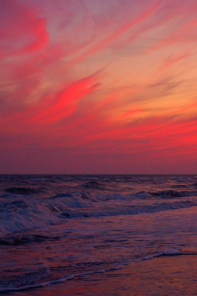 Sunset - Holden Beach, North Carolina