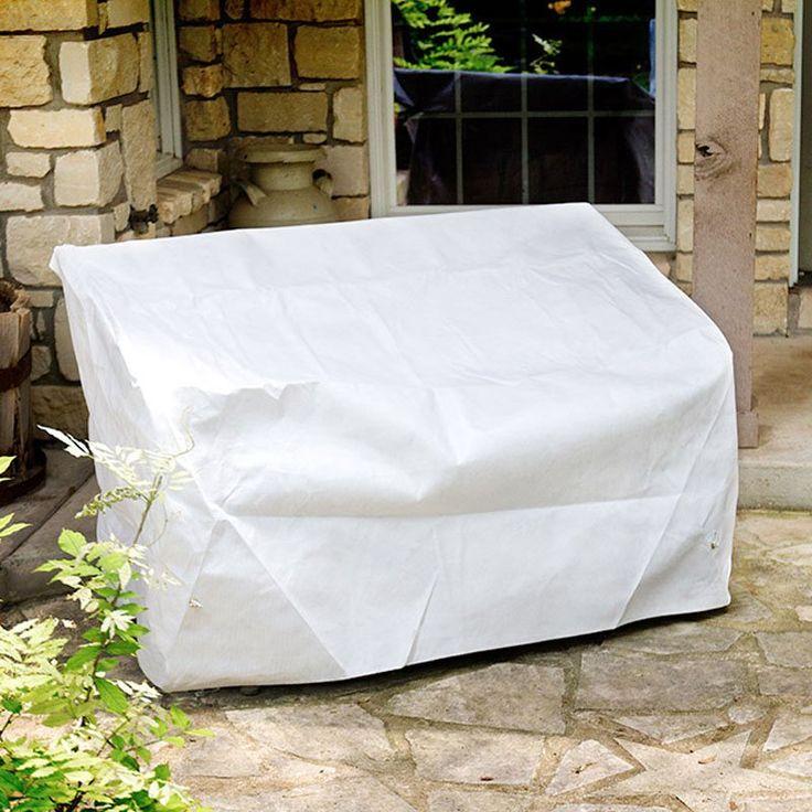 KoverRoos DuPont Tyvek White Glider / Lounge Cover - 26450