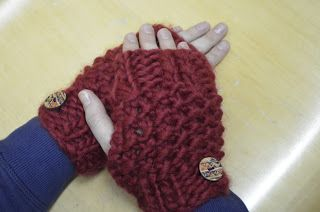 Fingerless Mittens ~ Stuff and Spice