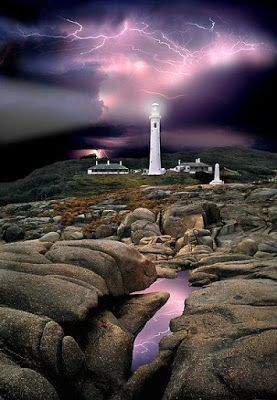 Point Hicks Lighthouse in Croajingalong National Park, Victoria, Australia