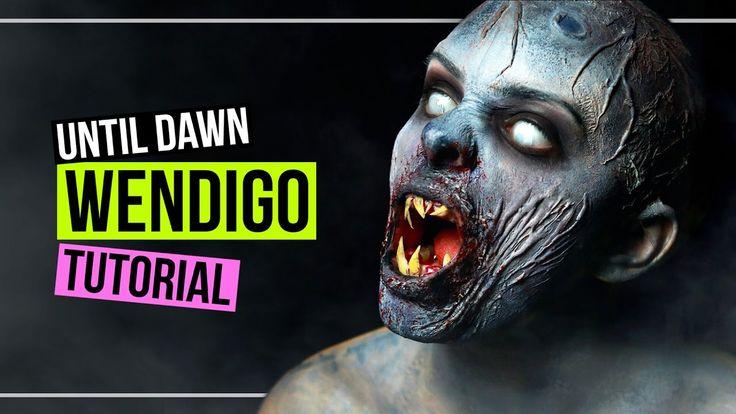 WENDIGO - Until Dawn - Makeup Tutorial Halloween SFX #SPOOKTOBER