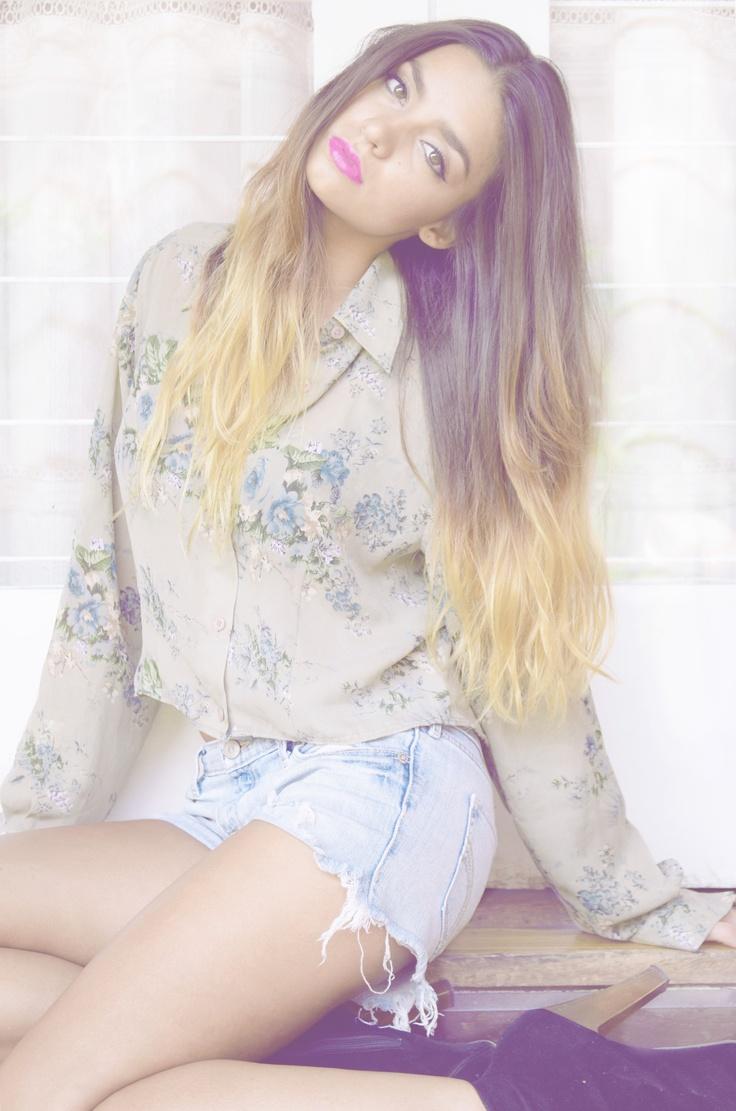 <3 Paula Zumbado.  Olive Crown clothing.