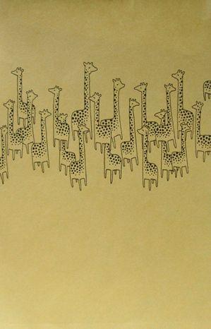 10 Giraffes - Jason Polan: Giraffe Sensation, Giraffes Sensat, 10 Giraffes