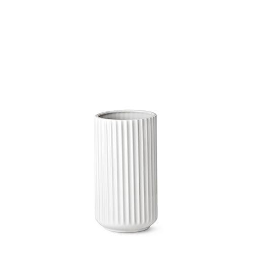 Our 20 cm original Lyngby vase in white porcelain.