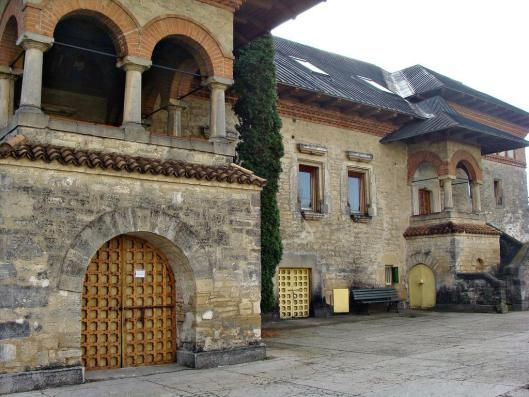 manastirea Cetatuia citadel  monastery fortress Iasi Romania Moldova 2