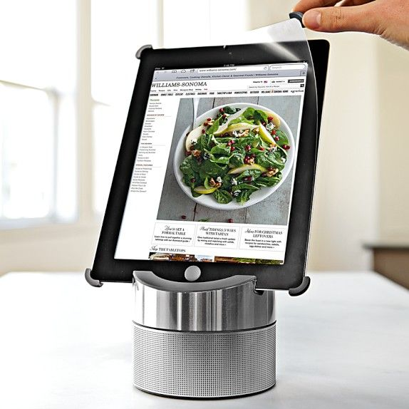 nice ipad stand for use in the kitchen with images