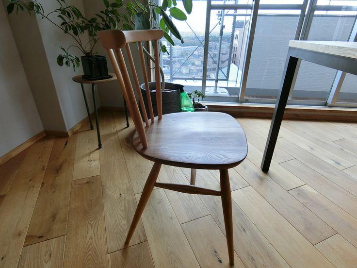 ダイニングの椅子(ウィンザーチェア)