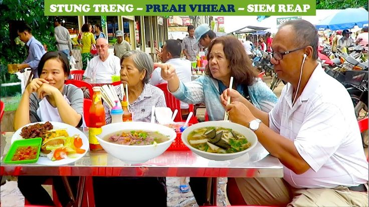 Travel from Stung Treng to Preah Vihear and Siem Reap Province | Trip on...