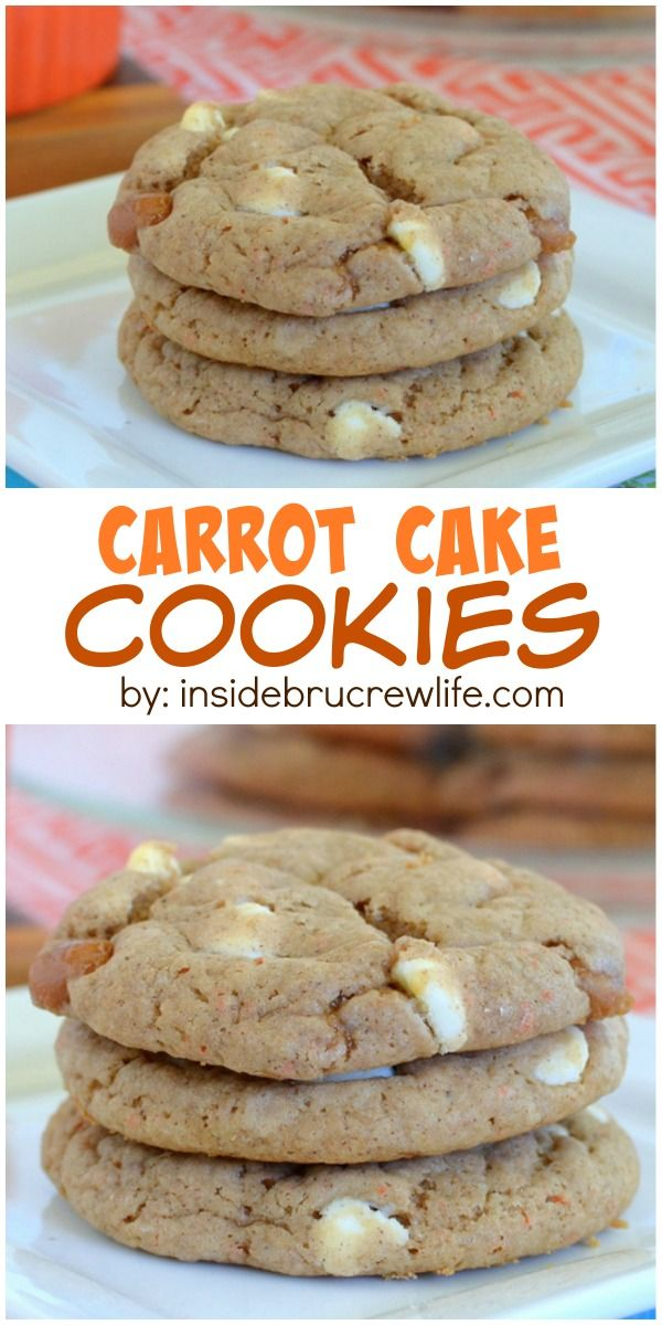 1000+ ideas about Carrot Cake Cookies on Pinterest | Clean ...