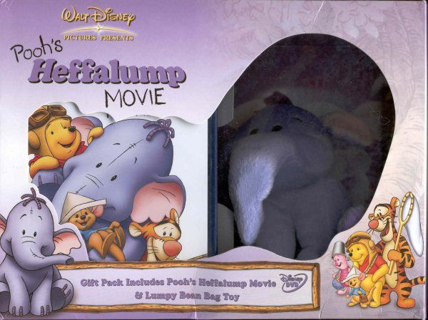 Pooh's Heffalump Movie Gift Pack - 8717418056001 - Disney DVD Database