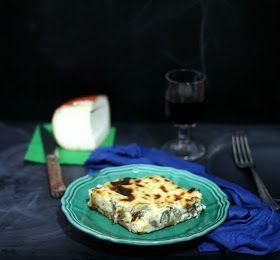 Aghinaropita di Tinos / torta salata di carciofi dall'isola di Tinos