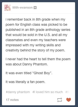 THis is so great. Tumblr. Danny Phantom