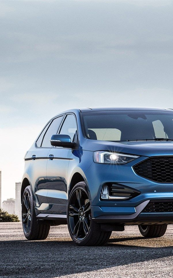 Ford Edge St 2019 New Suv Blue Edge American Cars Ford New Suv Hd Picture Ford Explorer