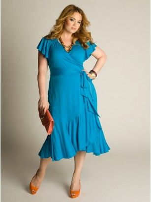 mother of the bride dress--pink Plus Size Day Dresses For The Casual Events by IGIGI
