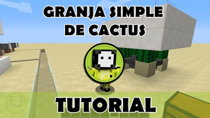 Tutorial Minecraft | Granja simple de catus para todas las versiones