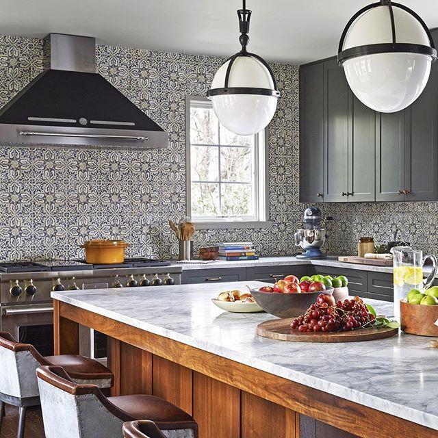 Hand Painted Kitchen Tiles: 2281 Best Kitchen Backsplash & Countertops Images On