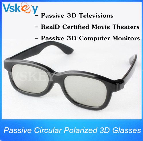 ==> [Free Shipping] Buy Best 5pcs Passive Cinema Circular Polarized 3D Glasses For Passive 3D Televisions RealD Movie Real 3D Theaters 3D TV Cinema System Online with LOWEST Price | 1321542100