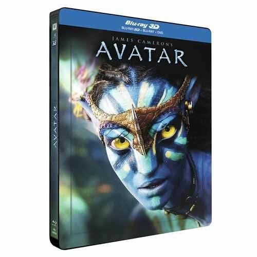 Avatar 3D (2009) [Limited Lenticular Edition] Blu-ray 3D + Blu-ray + DVD Steelbook