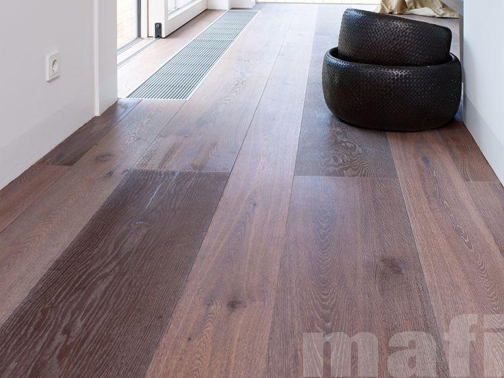 Oak Vulcano | Brushed White Oil | Timber flooring | mafi