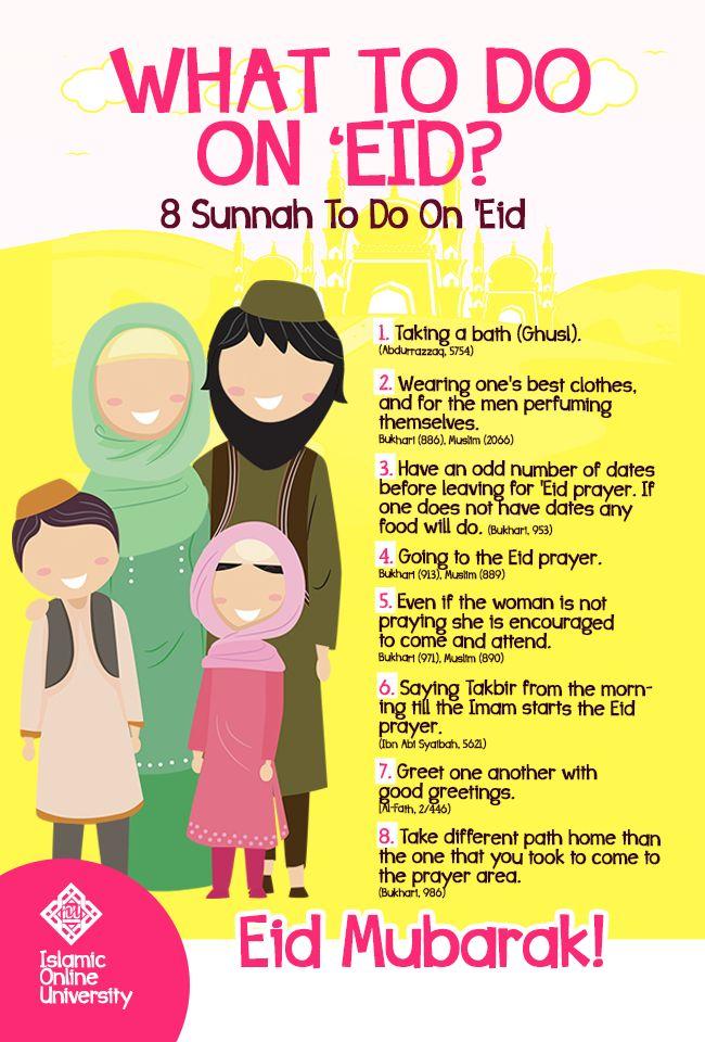 What To Do On 'Eid? #EidMubarak :)