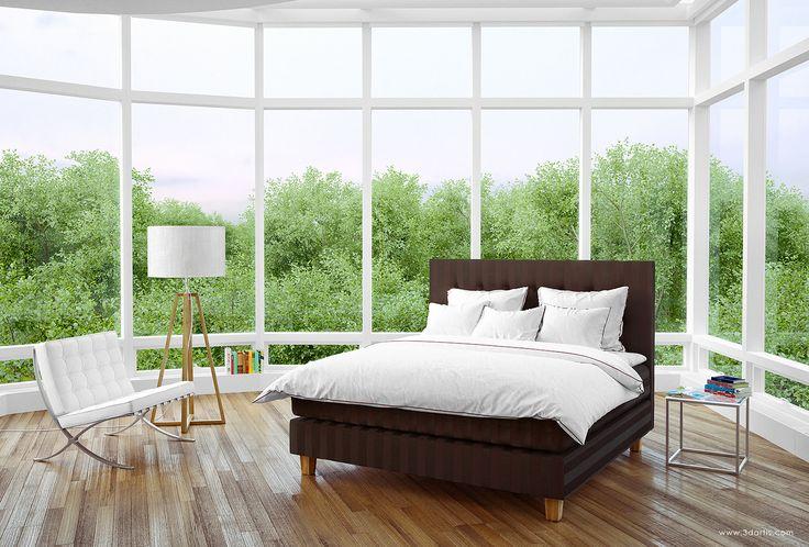 3D visualization - Saffron Bed Authentica