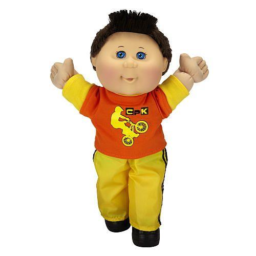 Cabbage Patch Kids Toddler Doll Caucasian Boy - Brunette - Extreme Sports  - Jakks Pacific 1001196 -  Baby Dolls - FAO Schwarz®