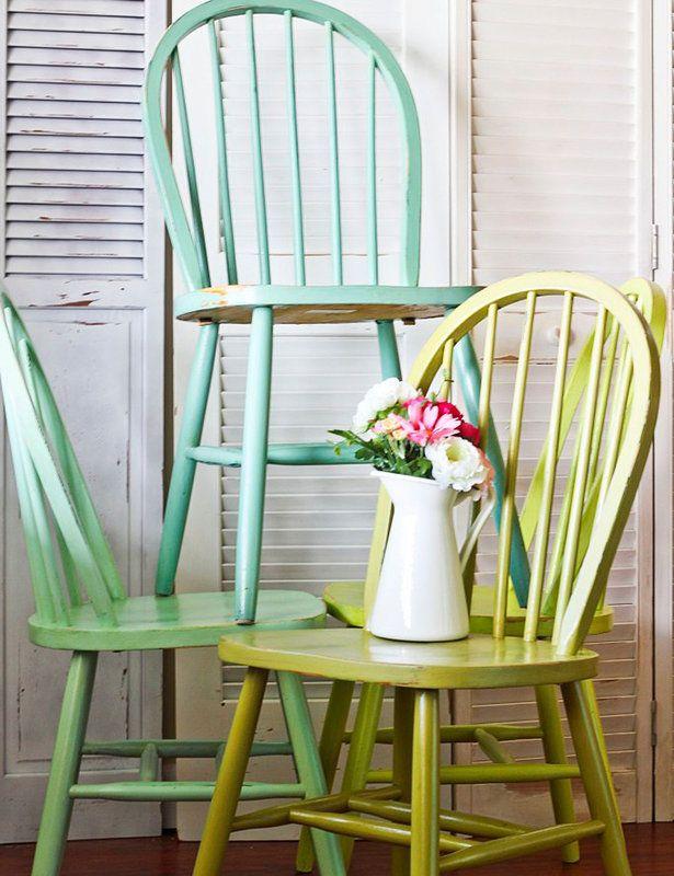 M s de 25 ideas incre bles sobre sillas windsor en for Almohadones para sillas windsor